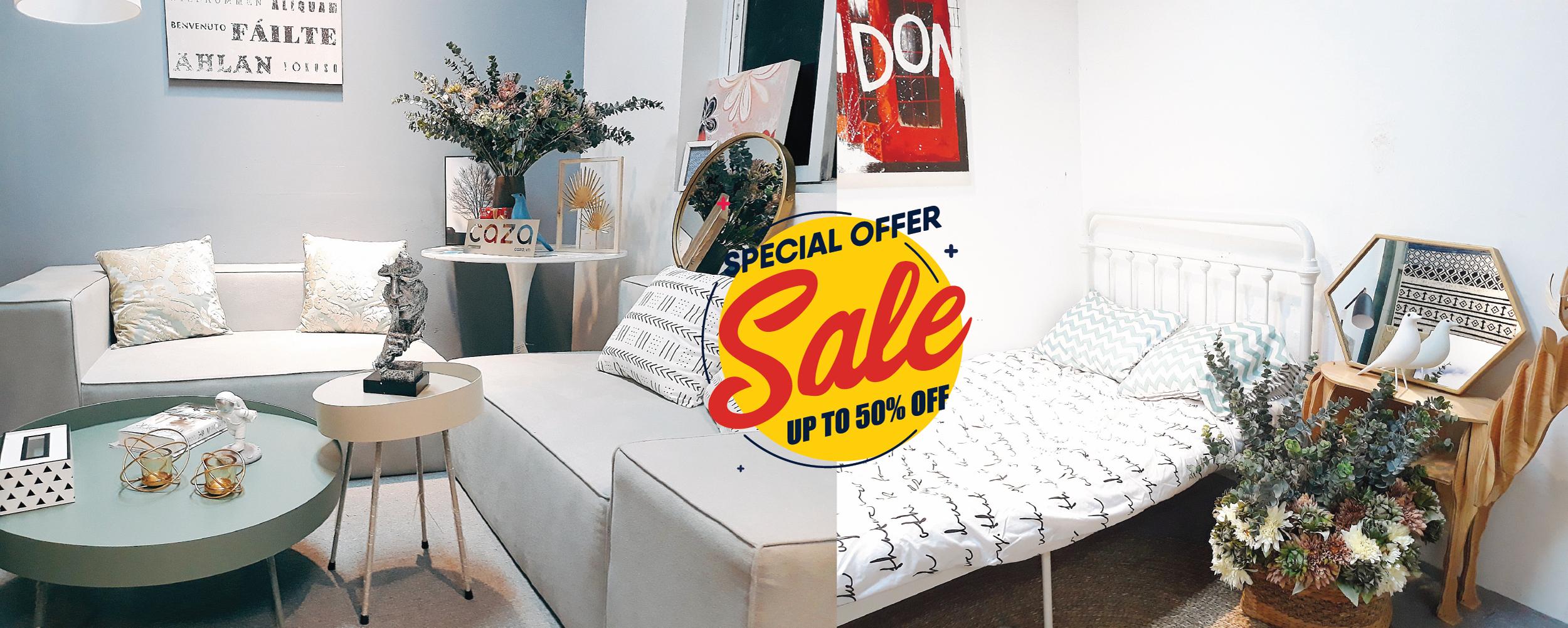 Xả kho hàng nội thất - Chuyển địa điểm - Giảm giá sốc lên tới 50% - caza.vn