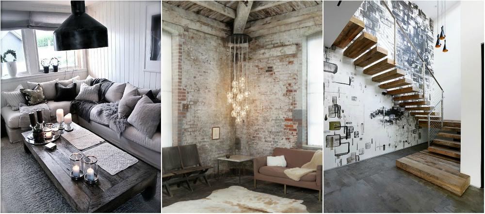 Phong cách nội thất công nghiệp mang dáng dấp căn nhà chưa hoàn thiện