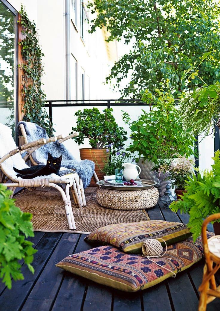 15 ý tưởng về khu vườn nhỏ ngoài trời cho các ngôi nhà ở thành thị