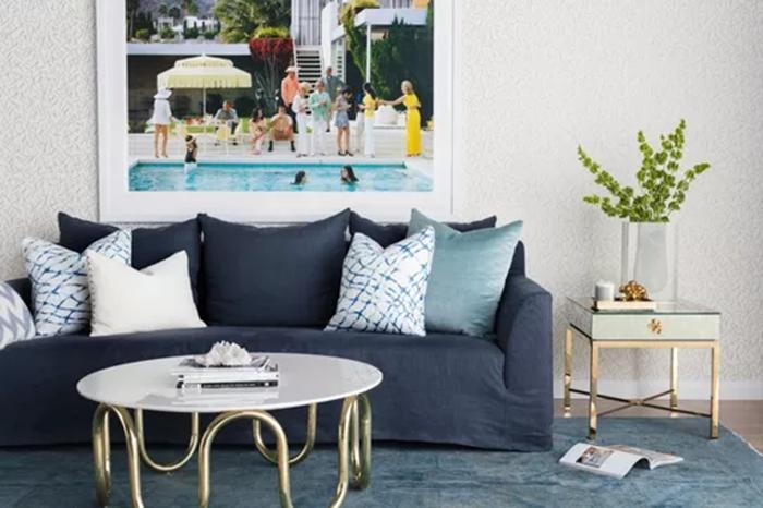 Bộ sofa thanh lịch và hiện đại cho nội thất phòng khách