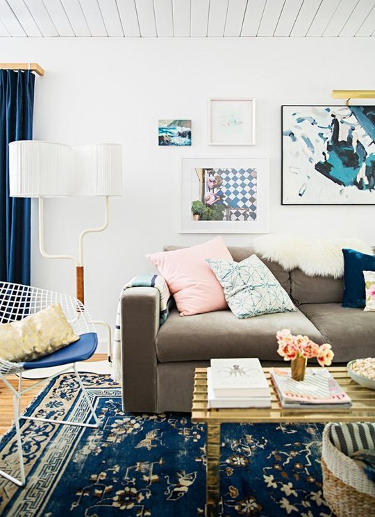 Thiết kế phòng khách từ kiến trúc sư nổi tiếng