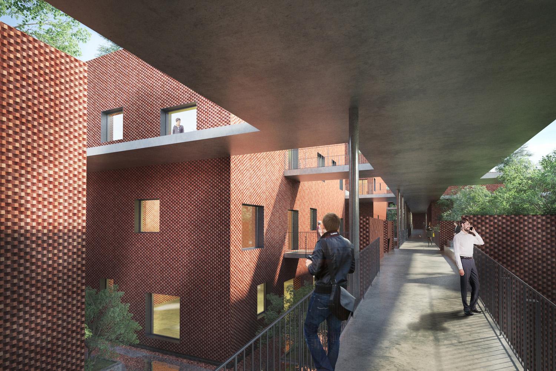 thiết kế các tòa nhà học viện viettel