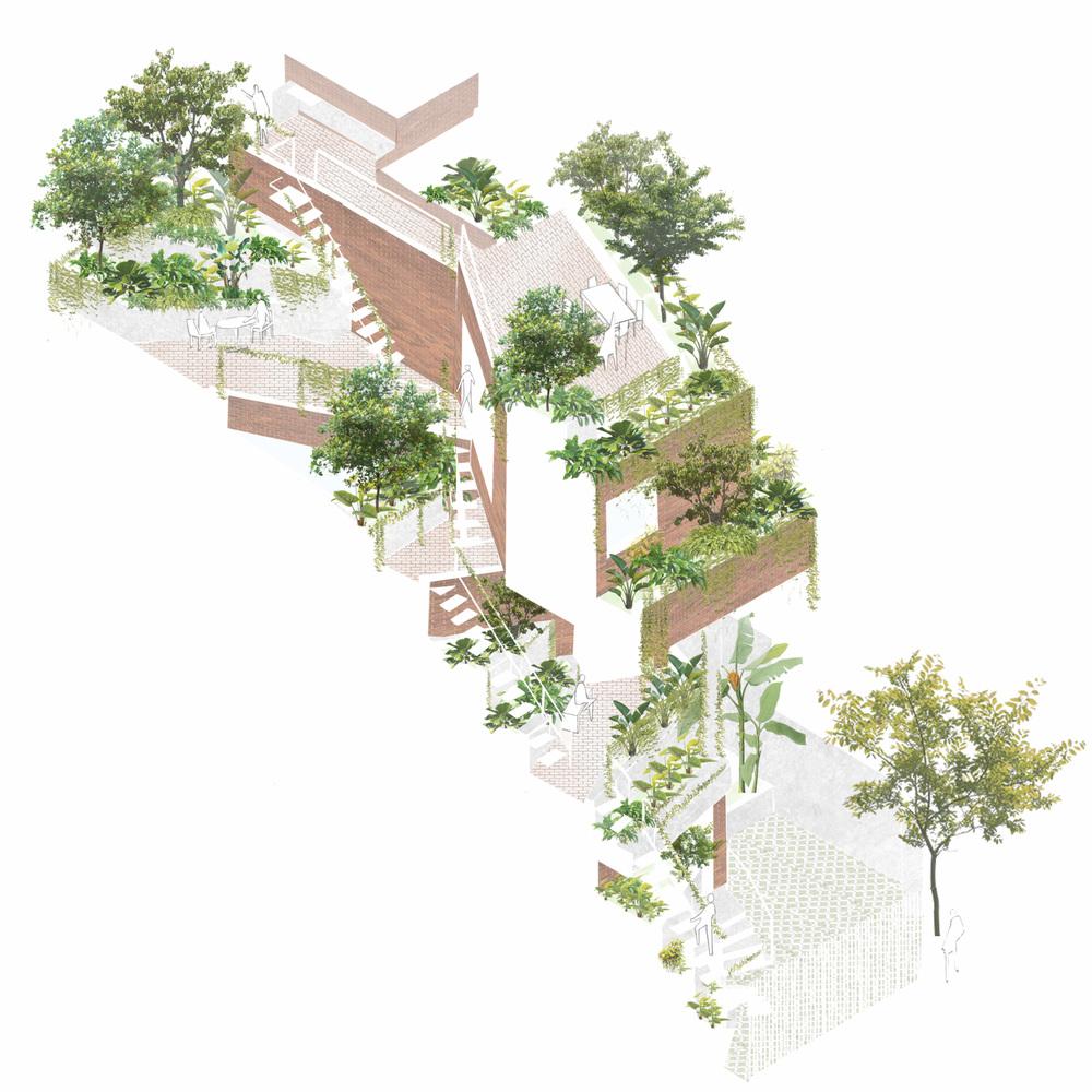 bản vẽ chi tiết dự án hà house