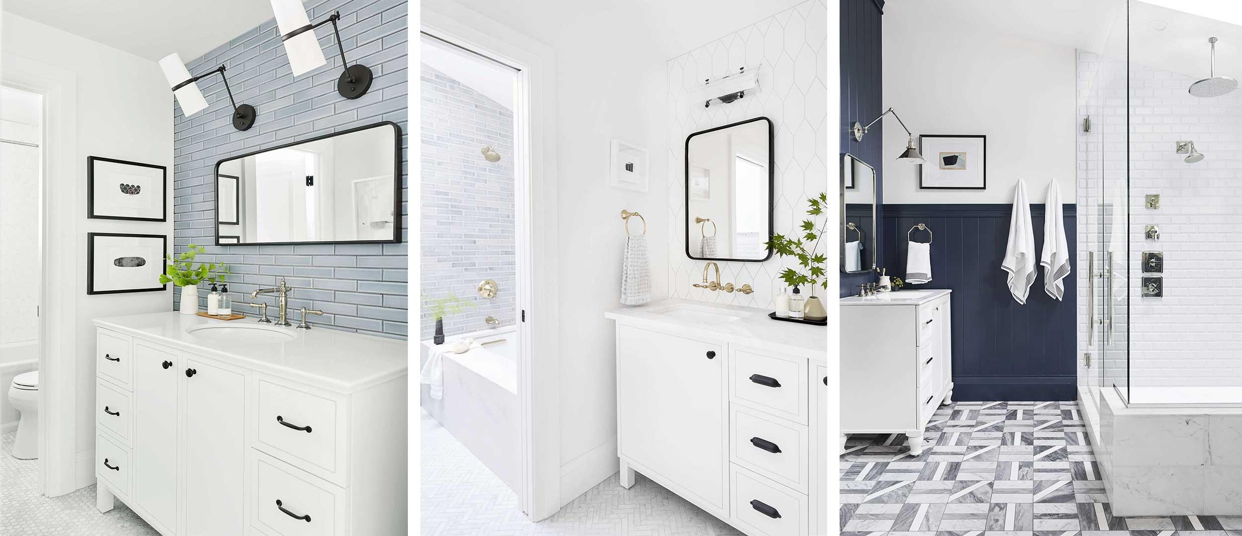 """4 quy tắc """"cần"""" và """"đủ"""" để chọn gạch ốp chuẩn cho phòng tắm và phòng bếp"""