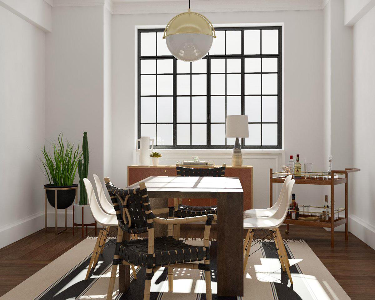 những yếu tố làm nên phong cách nội thất Modern Rustic, phong cách thiết kế nội thất