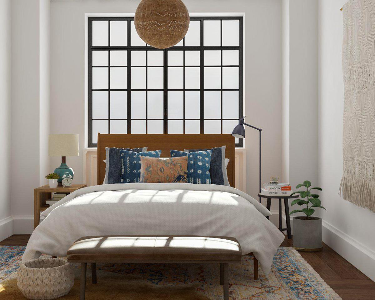 không gian ấm cúng, không gian mang phong cách Modern Rustic