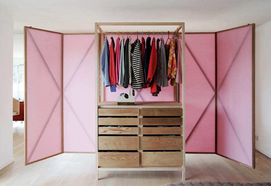 Mẫu tủ quần áo cho căn hộ nhỏ 1