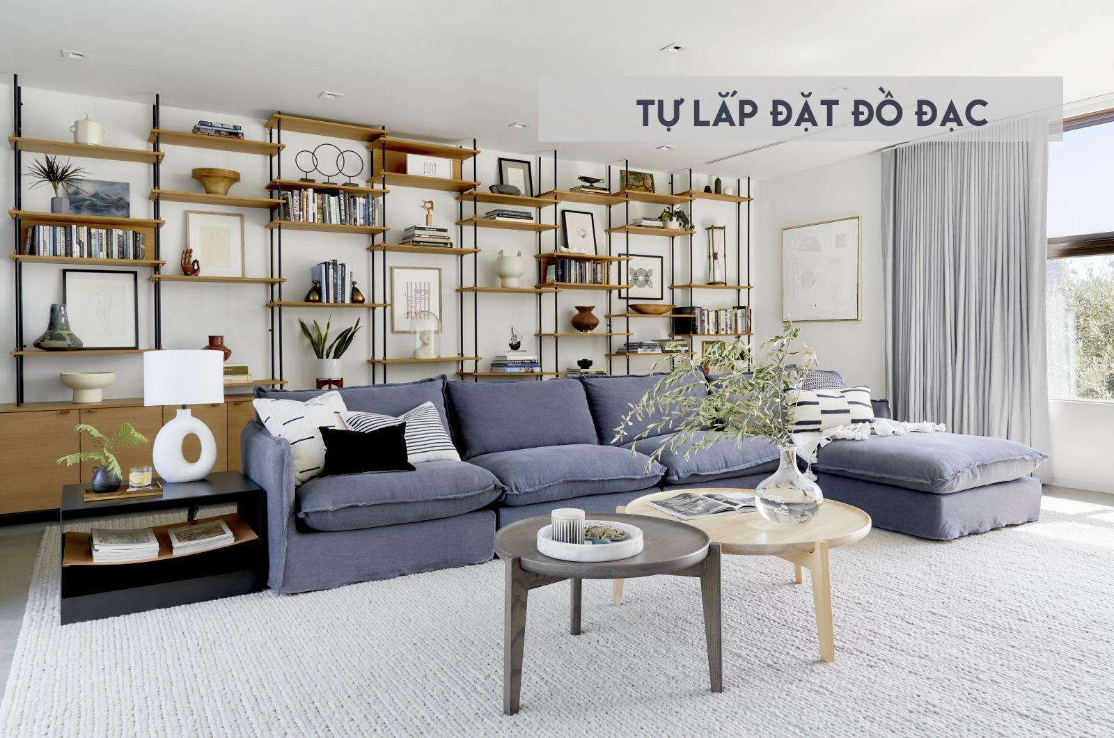 Tự lắp đặt đồ đạc trong nhà mà không cần kiến trúc sư nội thất