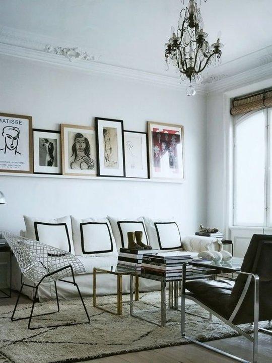 Trang trí phòng khách cho người nổi tiếng