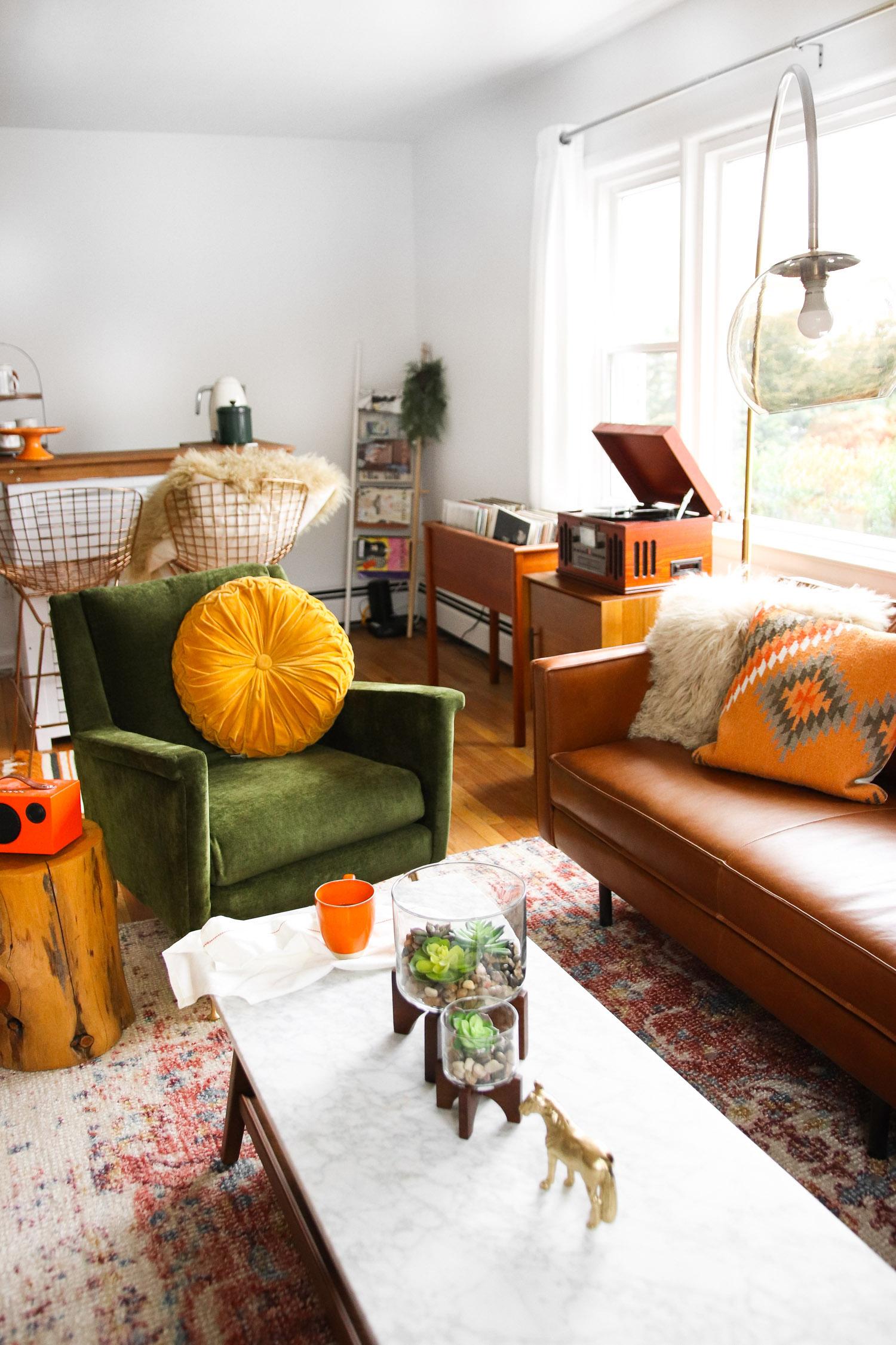 Vẻ đẹp ấm áp, hiện đại cho phòng khách
