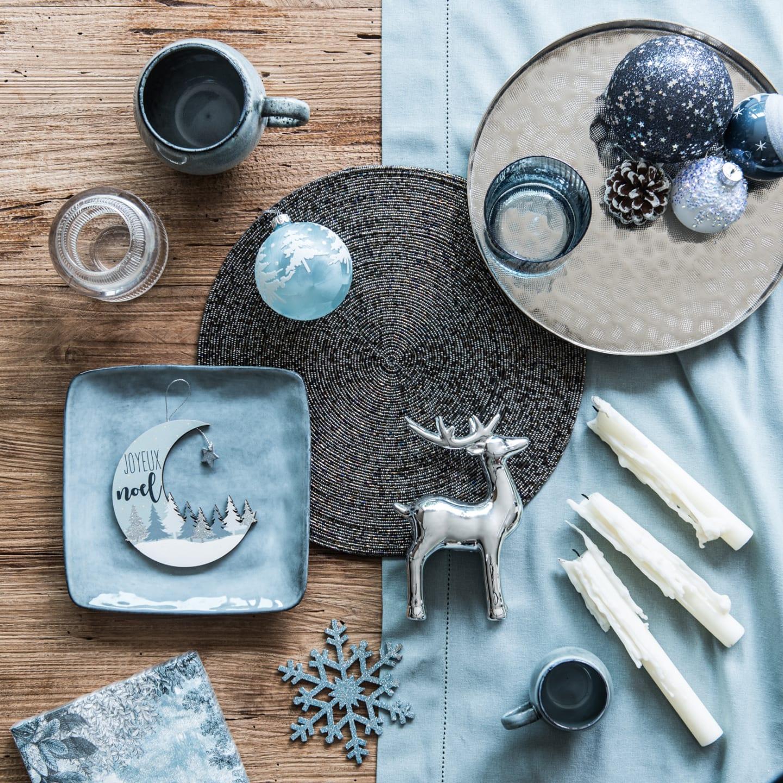 Tông màu xanh và bạc ánh kim lên ngôi trong mùa đông năm nay