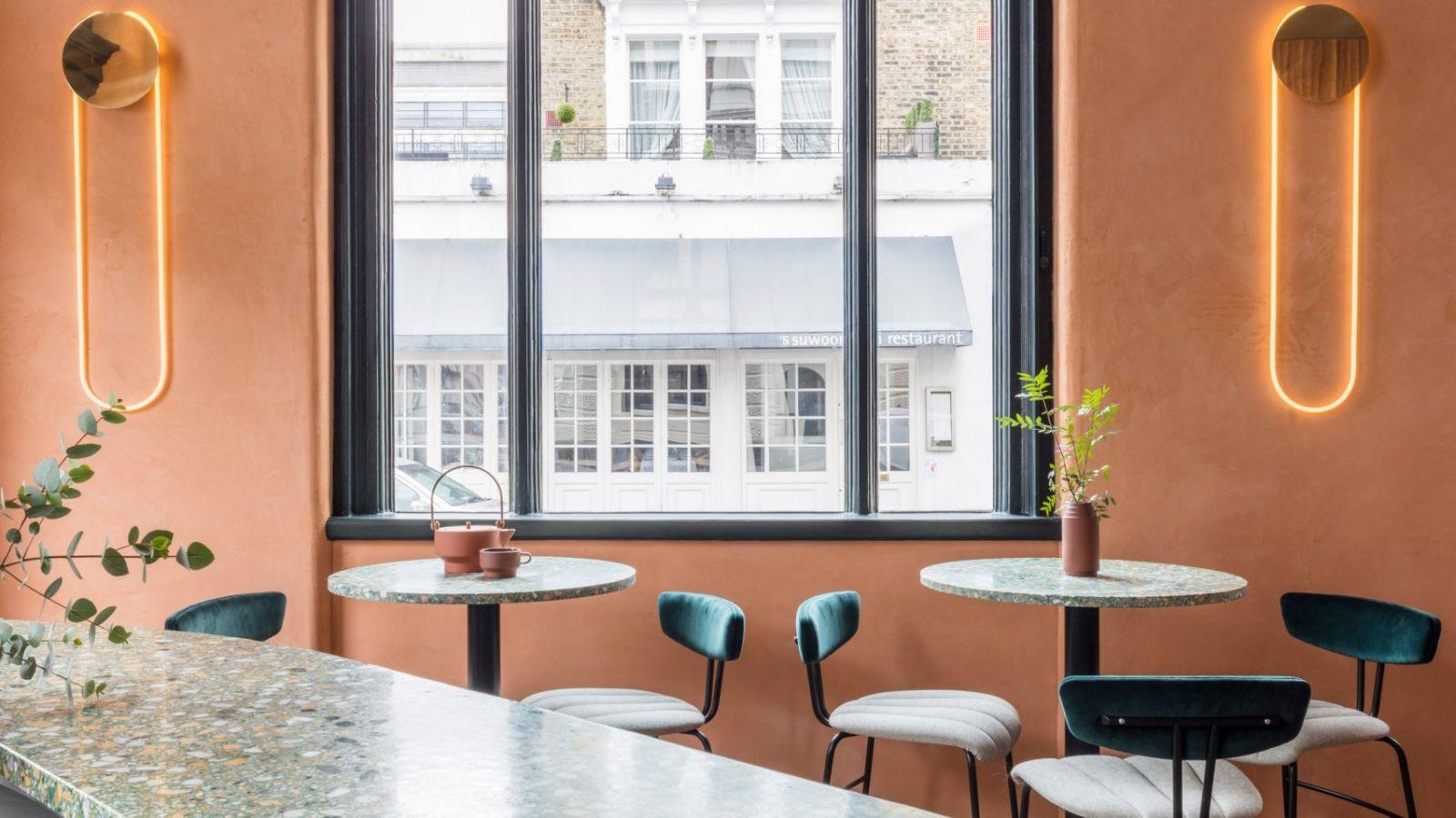 Ấn tượng với thiết kế nội thất nhà hàng mang màu sắc địa trung hải