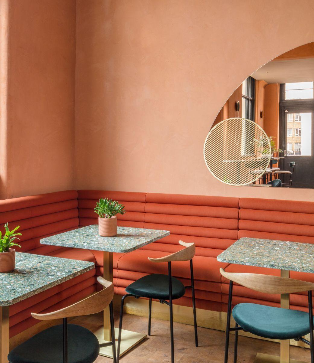 Mẫu thiết kế nội thất hiện đại cho quán cafe, nhà hàng phong cách Châu Âu
