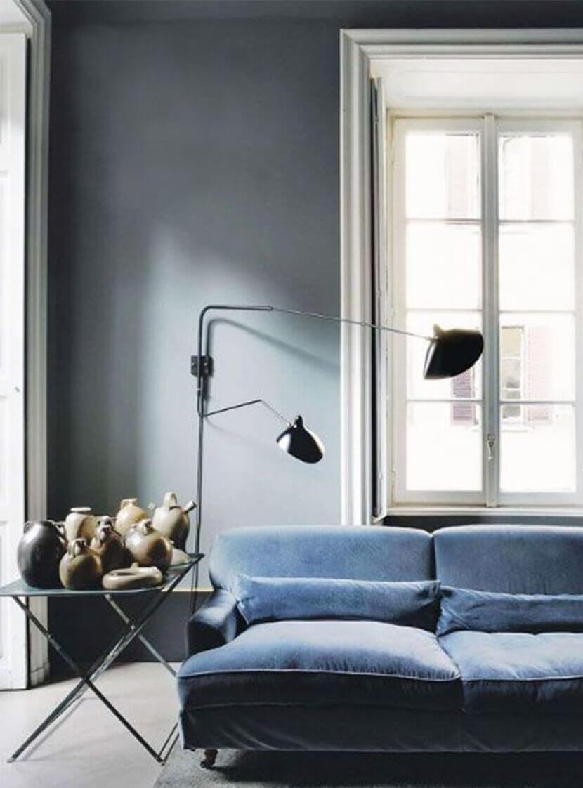 Trang trí phòng khách hiện đại với ghế sofa chunky sofa