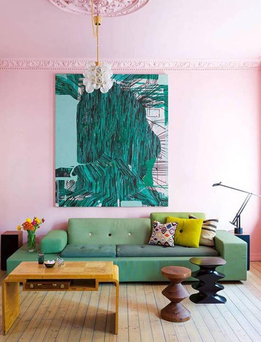 Những chiếc chunky sofa thu hút dành cho phòng khách trẻ trung