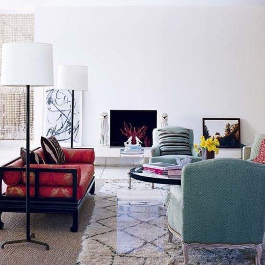 Kiến trúc sư nổi tiếng thiết kế phòng khách như thế nào