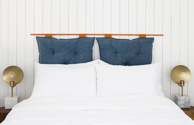 DIY ốp đầu giường cho trang trí phòng ngủ