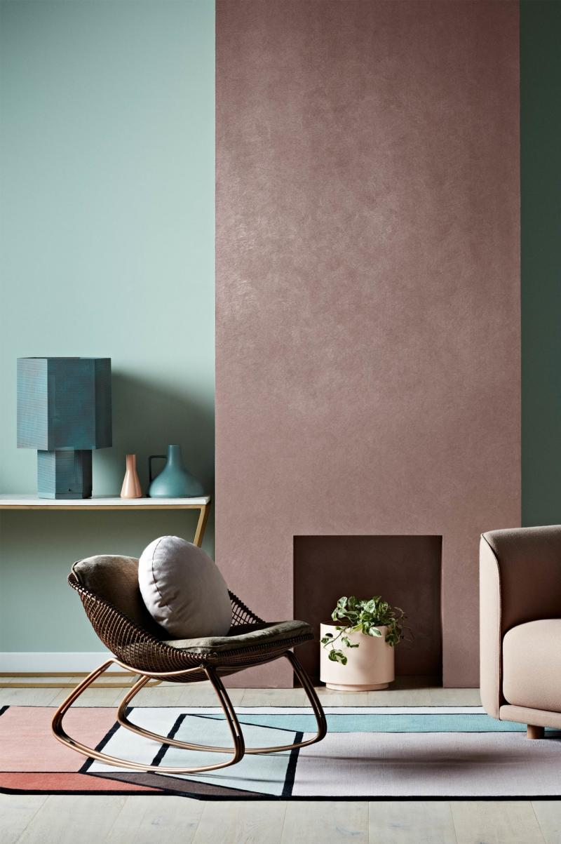 Trang trí tường với bộ màu Dulux 2017