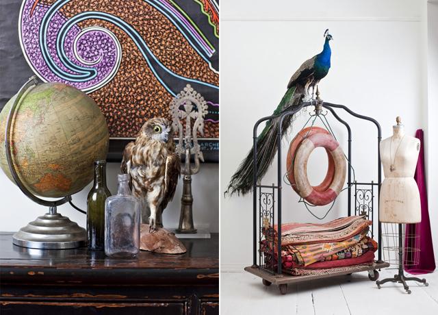 Kết hợp nhiều đồ trang trí khác nhau trong trang trí nhà cửa