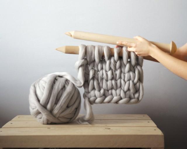 Mẫu chăn len khổng lồ đẹp