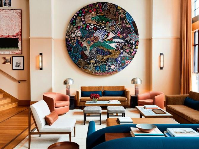 Ghé thăm khách sạn tuyệt đẹp tại Detroit, Mỹ