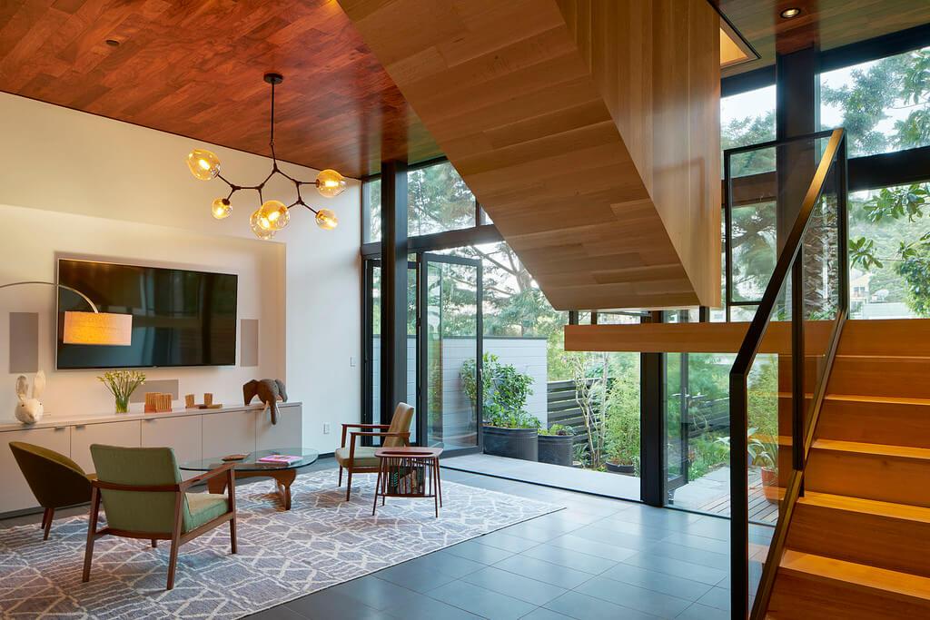 Thiên nhiên đã trở thành sự lựa chọn trong thiết kế. Và những thiết kế nội thất biệt thự theo phong cách Mid – century là một ví dụ điển hình