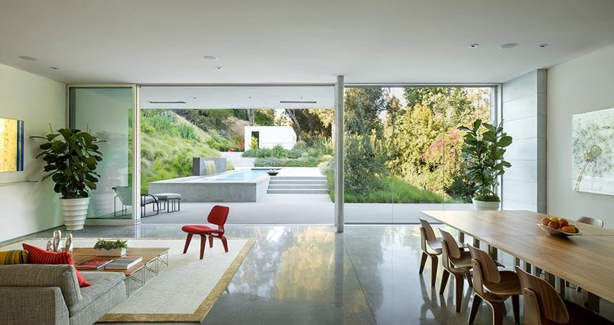 Đường nét, màu sắc đơn giản trong thiết kế phong cách nội thất Mid century