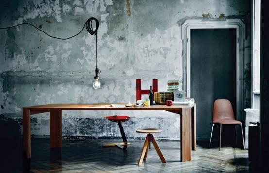 Thiết kế nội thất căn hộ theo phong cách Industrial