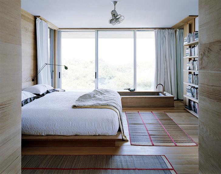 Phòng ngủ theo phong cách nội thất tối giản