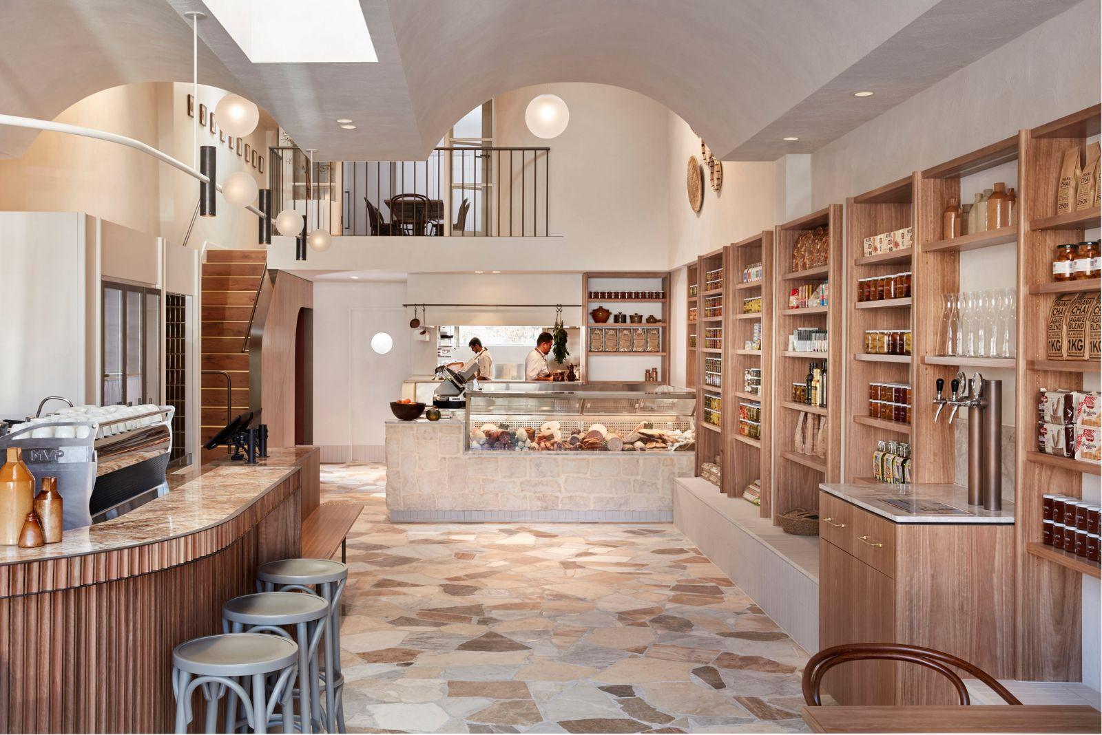 Không gian nội thất quán cafe cực đẹp theo phong cách ý