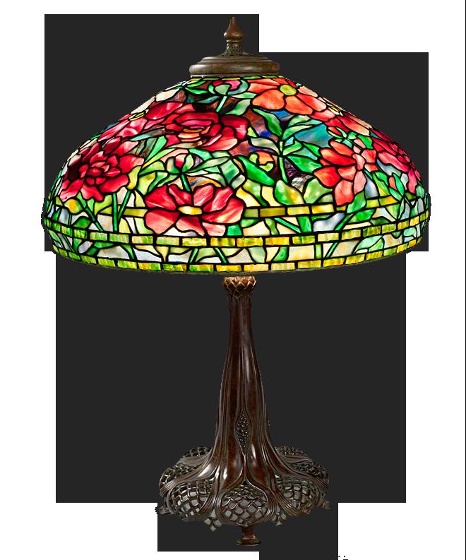 Đèn Tiffany quí tộc đầy màu sắc