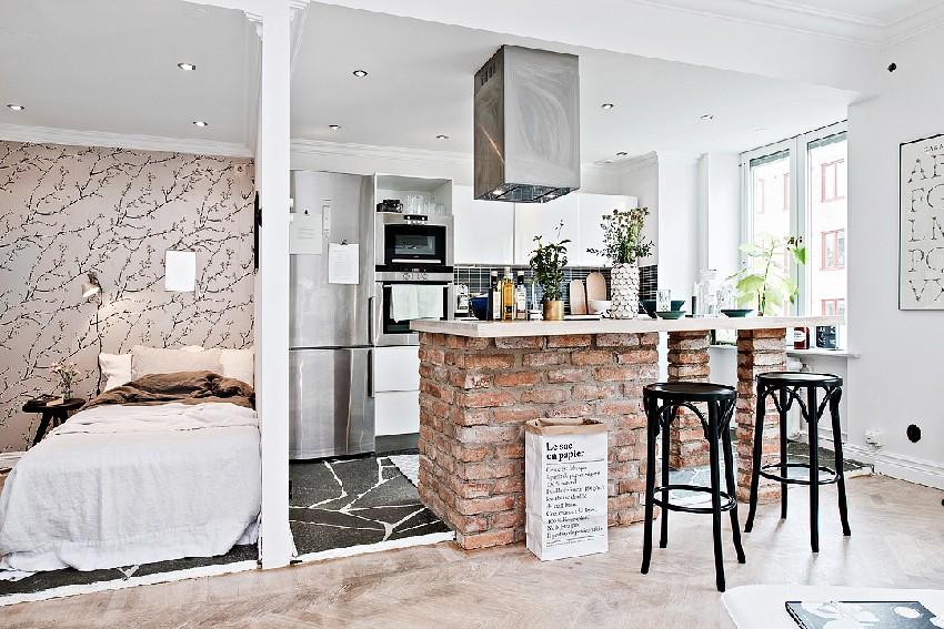 Thiết kế căn hộ cá tính cho nàng độc thân- khu bếp