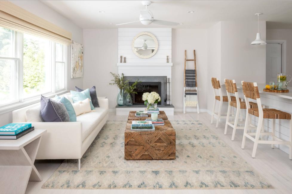 Quy tắc thiết kế nội thất với những tấm thảm