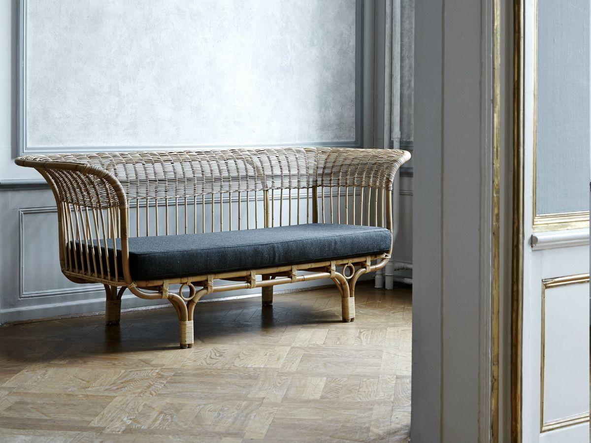 Vẻ đẹp của đồ nội thất làm bằng chất liệu mây - Sofa mây