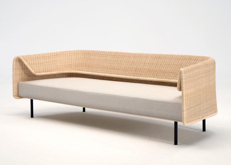 Thiết kế sofa mây của nhà thiết kế người Nhật Bản