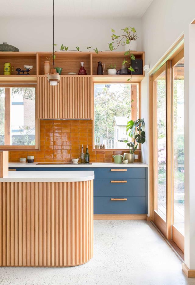Thiết kế nội thất phòng bếp an toàn cho gia đình có trẻ nhỏ