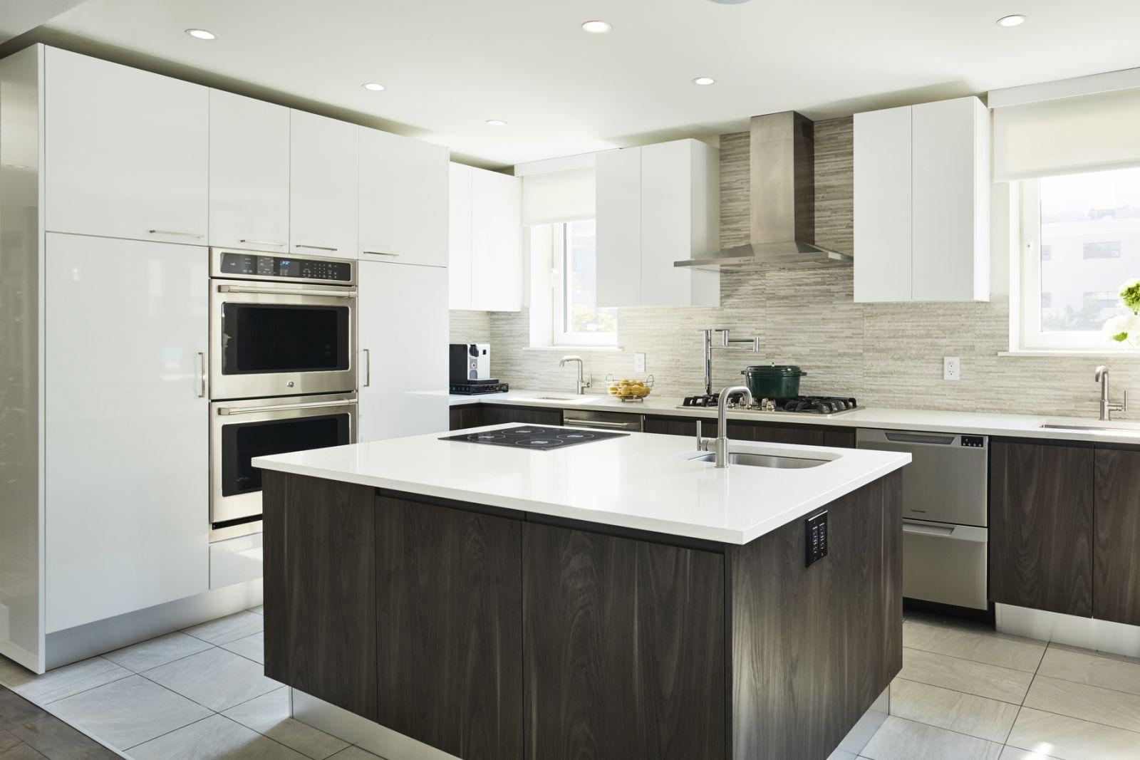 Thiết kế phòng bếp đương đại của bạn:Thiết bị âm tường