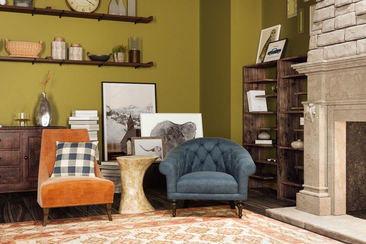 Phong cách nhà ở ấm cúng, cổ điển lẫn hiện đại của Ron Weasley trong Harry Potter