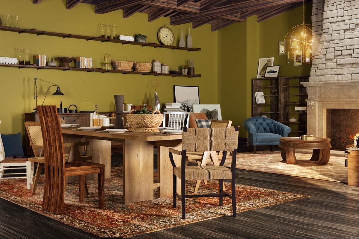 Thiết kế phòng ăn lấy cảm hứng từ các nhân vật trong Harry Potter