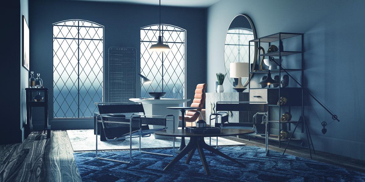 Ngôi nhà phong cách tối giản với các đường nét cứng cáp