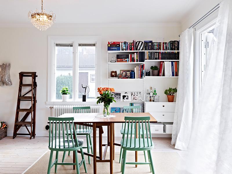 Một thiết kế phòng khách lối kiến trúc Bắc Âu