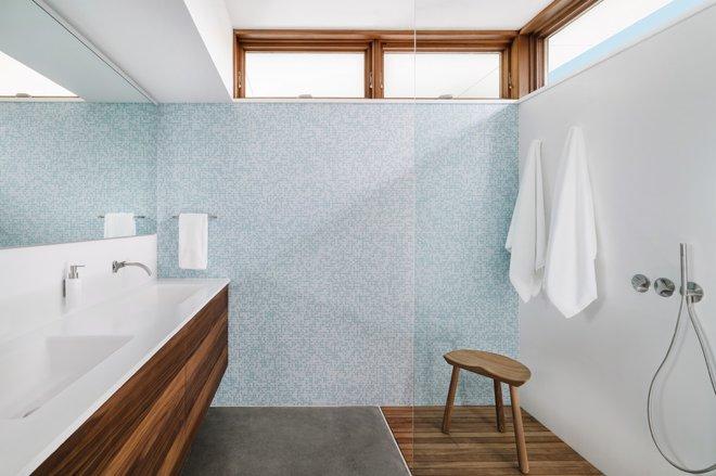 Vị trí chuẩn cho đồ nội thất trong phòng tắm 10