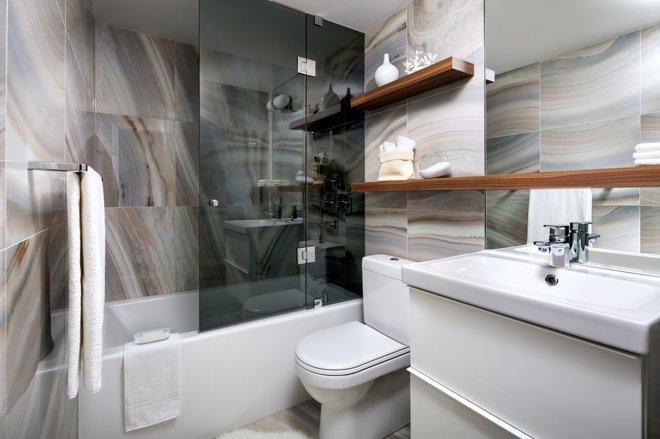 Vị trí chuẩn cho đồ nội thất trong phòng tắm 5