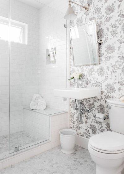 Vị trí chuẩn cho đồ nội thất trong phòng tắm 6