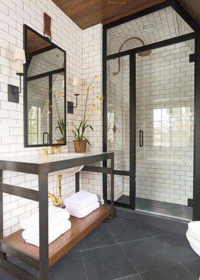 Vị trí chuẩn cho đồ nội thất trong phòng tắm 7