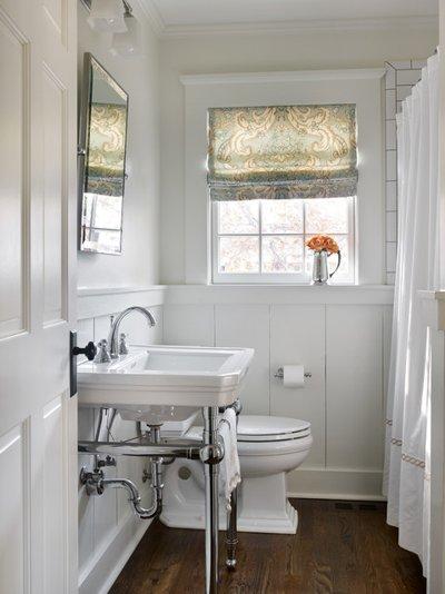 Vị trí chuẩn cho đồ nội thất trong phòng tắm 9