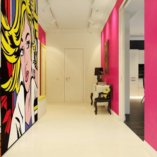Căn hộ chung cư cực chất theo phong cách Pop Art
