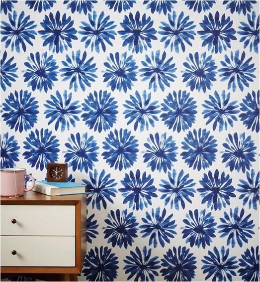 Cách trang trí tường nhà bằng vải