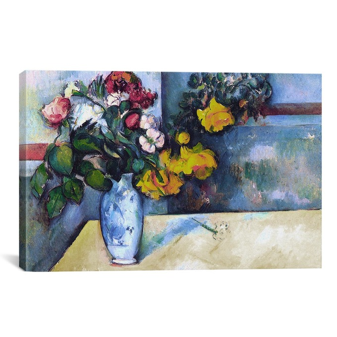 TRANH FLOWERS IN A VASE
