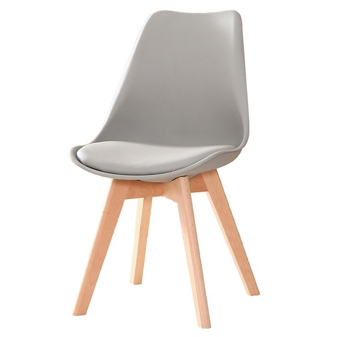 Ghế Eames mặt đệm -mẫu ghế ăn, ghế bar sang trọng và dễ lau chùi, làm sạch